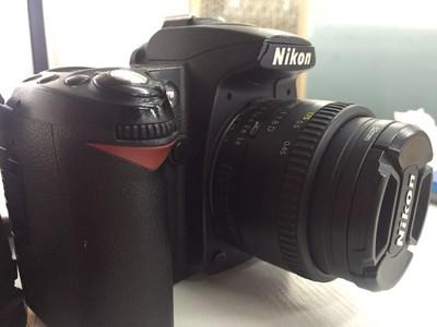 尼康 D90 附尼康 AF NIKKOR 50MM/1.8 D