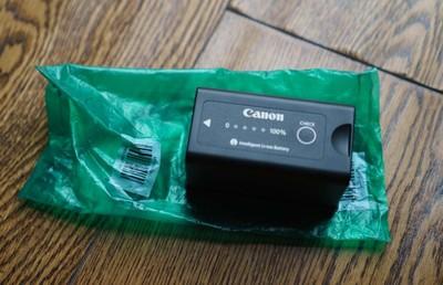 全新未充电佳能C500 C300 C100电池 BP-955