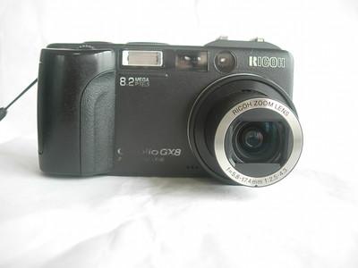 很新理光GX8经典相机,1.8大CCD,800万像素,收藏使用均可