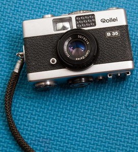 西德产禄来rollei B35 carl zeiss triotar 40 3.5胶片相机