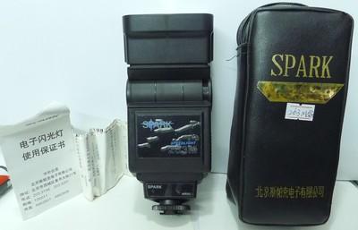 斯帕克263M 单触点 低压触发 自动调光闪光灯,可用于数码相机!