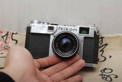 95新NIKON NIPPON S2金属旁轴带50MM F2(欢迎议价,支持交换)
