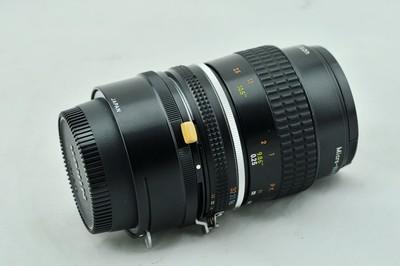 尼康 AIS 55mm f/2.8 AI 55 2.8 f2.8二手手动微距镜头PK-3近摄环