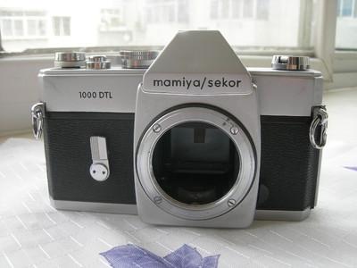 故障配件机 玛米亚 MAMIYA 1000DTL 135单反相机机身!