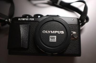 奥林巴斯 E-PL7京东行货微单相机黑色全套带包装带票,epl7