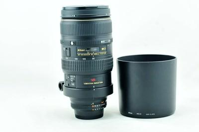尼康二手 nikon AF 80-400 4.5-5.6D 长焦防抖镜头 80-400mm 荐