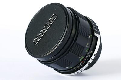 确善能Cosinon MC 55 1.4定焦大光圈镜头 M42口