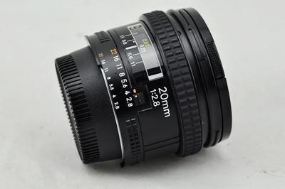 日行Nikon尼康 AF 20 2.8和AF 20 2.8D广角定焦20mm 新城二手镜头