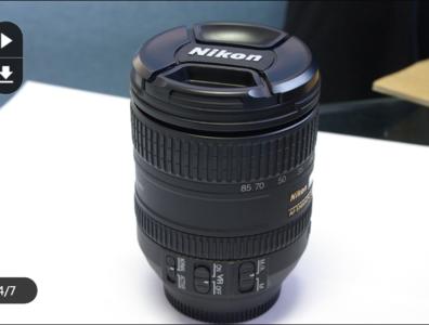 尼康 D300S 带镜头灭门