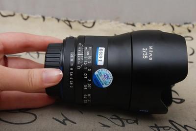 98新MILVUS蔡司 35MM F2尼康口#0891(欢迎议价,支持交换)