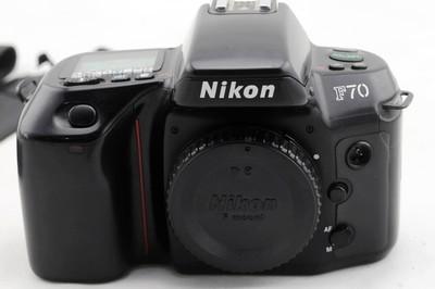 二手尼康  F70  经典135胶片相机 自动胶片 单机身 不含镜头电池