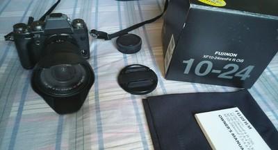 出售 98新 富士 XF 10-24mm F4 R OIS 超广角变焦镜头