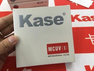 卡色kase 超薄镀膜 钢化防霉 MCUV II二代 防水防油 37-95mm 均有