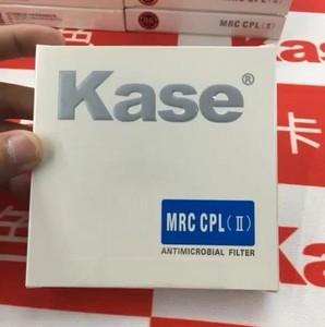 卡色 kase 超薄镀膜 高清二代防霉 cpl偏振镜 40.5-82mm 均有货