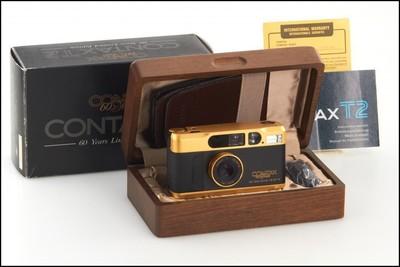 康泰时 Contax T2 60周年纪念金机 新品未使用品 带包装