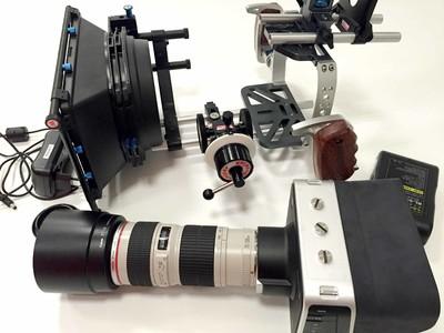 bmpc 4k  摄像机加万德兰套头