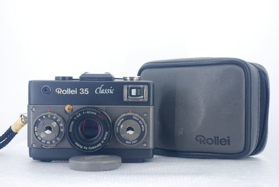 Rollei 35 Classic 黑勋章纪念版-2 40mm/F2.8 旁轴 胶片相机