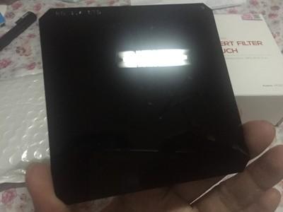 海泰ND 2.4 方片 中灰密度镜(100X100)树脂片