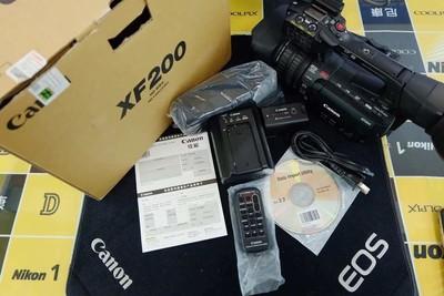 佳能XF200高性能小型专业录像机 国行 基本全新 全国联保