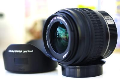 宾得 DA L 18-55mm 赠送UV+遮光罩
