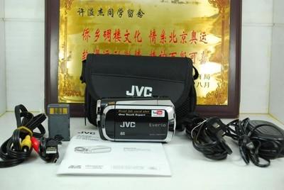 99新 JVC/杰伟世 GZ-MS120 数码摄像机 可置换 高清 录像机 家用