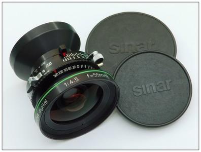 仙娜 罗敦司德 55mm 4.5 数字镜头 0号快门