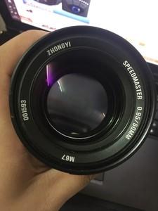 超大光圈标头 中一50mm 0.95 2代,索尼ef口镜头,全画幅。