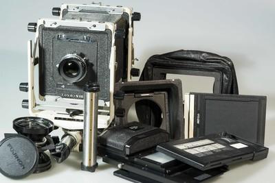 TOYO-VIEW-45套机,1:5.6/135mm,1:5.6/90mm,69滑动取景后组