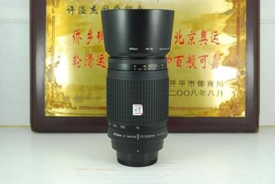 尼康 70-300 F4-5.6G 小纸炮 单反镜头 中长焦人像打鸟 可置换
