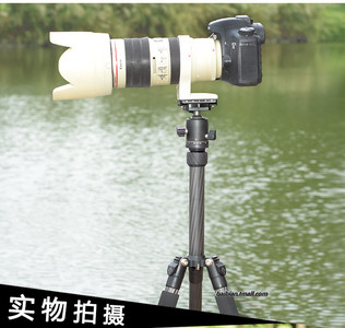 百变FD225C碳纤维三脚架 单反相机摄影旅行便携轻短三角架