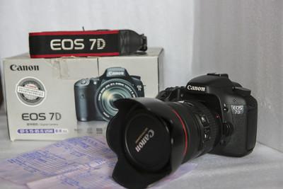 佳能 7D+24-105相机及镜头