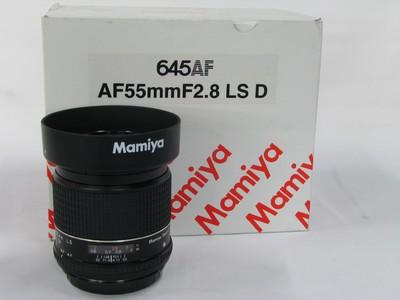 玛米亚利图 SEKOR AF 55mm f/2.8 LS D镜头999新原包装齐全