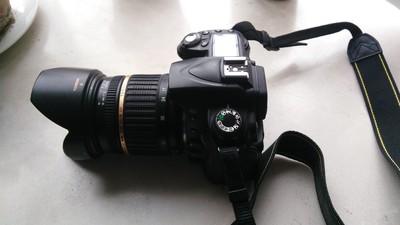 尼康d90带腾龙17-50 f2.8 带原装手柄