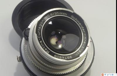 施耐德35MM 2.8 白银镜头DKL