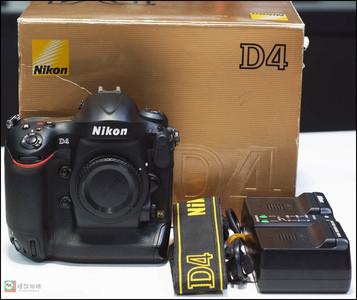 尼康 D4 专业单反相机高级全幅机身 单机身