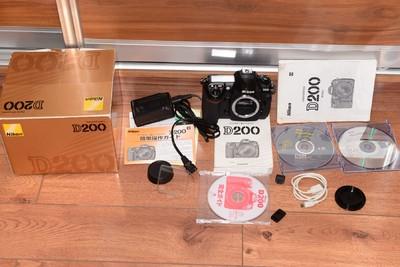 全套包装93新尼康 D200数码相机