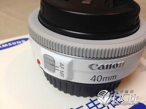 佳能 EF 40mm f/2.8 STM 白色