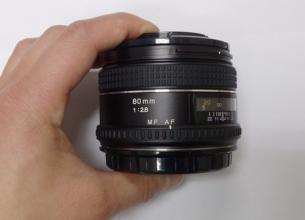 玛米亚利图 MAMIYA SEKOR AF 80mm f/2.8