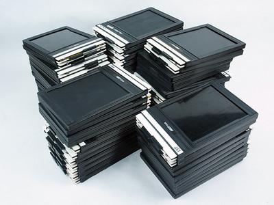美国/FIDELITY  4x5 片夹片盒 极美品!