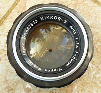 尼康50 1.4手动镜头