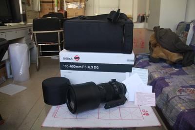 适马 150-600mm f/5-6.3 DG OS HSM Sports,佳能口