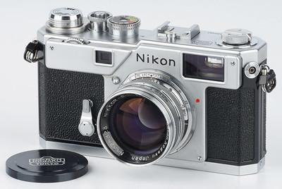 尼康 Nikon S3 NIKKOR-S 50/1.4 经典旁轴胶片胶卷相机 63年原版