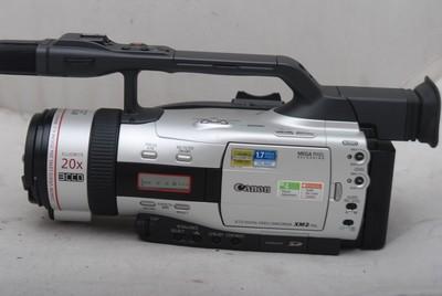96新Canon/佳能 XM2 摄像机(欢迎议价,支持交换)