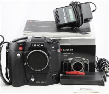 徕卡 Leica R9 + DMR 套机 机身带包装 后背带两块电池!