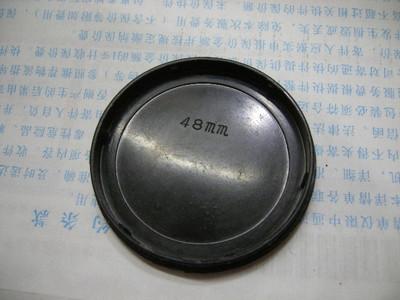 珠江48MM镜头盖(闷盖,按压式带英文珠江字样)原广州珠江相机厂