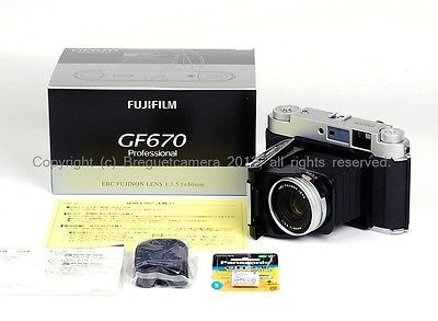 【特价】富士 GF670 银相机 全套配件全球最低价