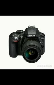 尼康 D3300套机,机身+镜头
