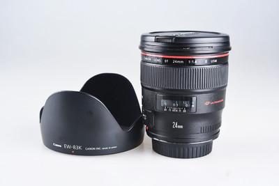 95新 佳能 EF 24mm f/1.4L II USM