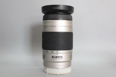 98新 柯美 AF 75-300mm F4.5-5.6D 75-300