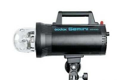 神牛3组GS400W摄影棚摄影器材套装+柔光箱+引闪器等